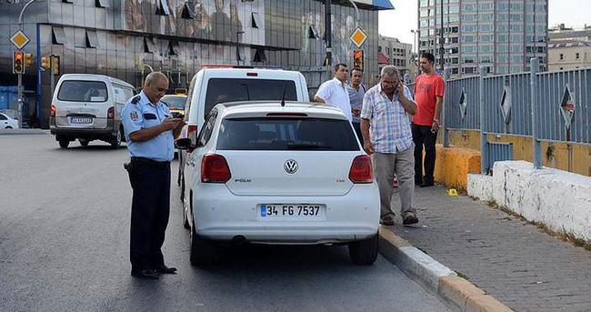 Beyoğlu'nda trafik ışıklarında cinayet