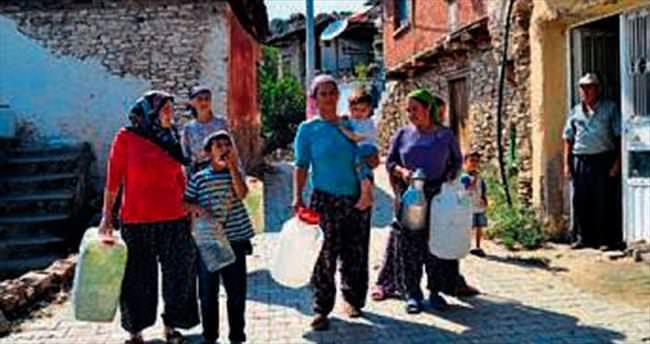 Kiraz'da su sorunu vatandaşı bezdirdi