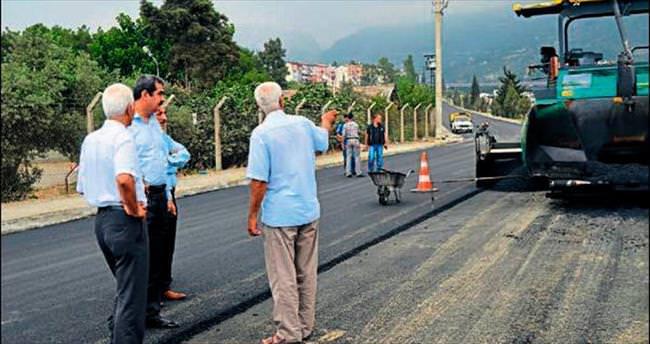 Orhantepe yolu asfalta kavuştu