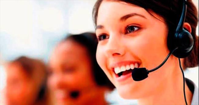 Çağrı merkezinin % 72'si kadın çalışan
