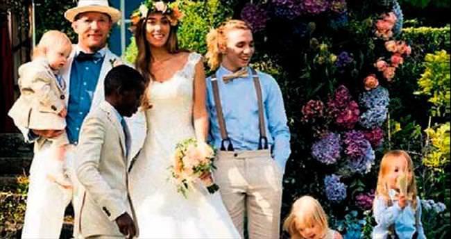 Ritchie'lerin düğün albümü Instagram'da