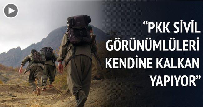 ''PKK, sivil görünümlüleri kalkan yaparak kendine yeni bir alan açmaya çalışıyor''