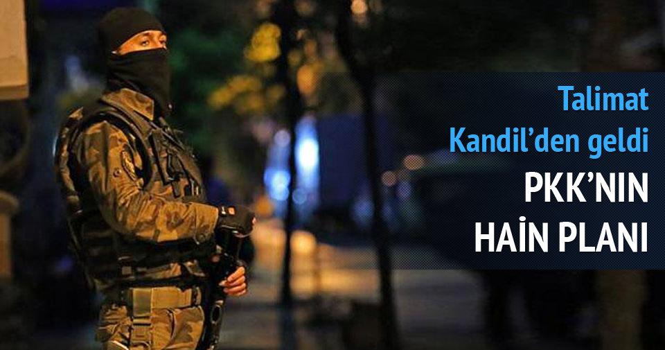 PKK'nın tezgahını İstanbul polisi bozdu