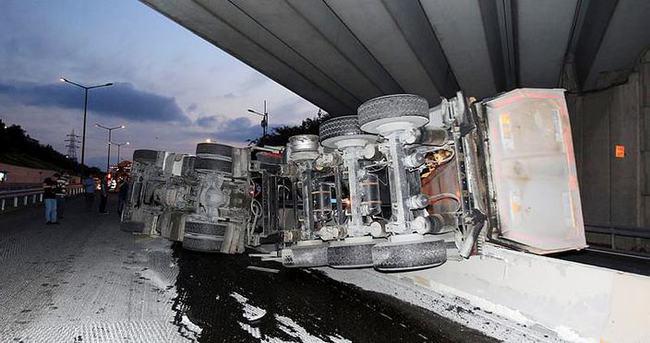 İstanbul'da bir damper kazası daha!