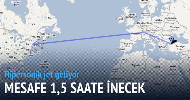 İstanbul - New York 1.5 saate inecek