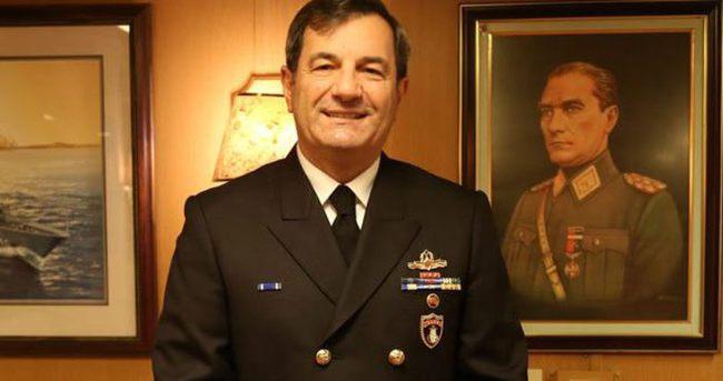 Donanma Komutanı Koramiral Veysel Kösele oramiralliğe yükseltildi