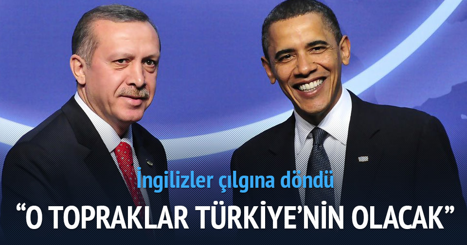 O topraklar Türkiye'nin olacak