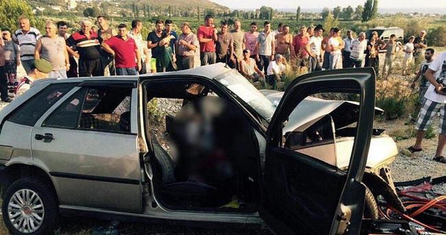 İzmir'deki kazada can pazarı: 2 ölü, 7 yaralı