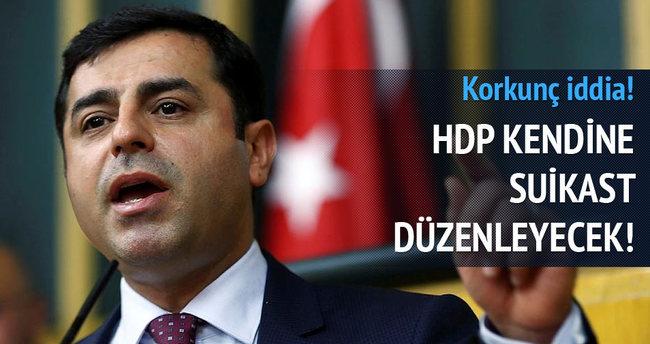 Kuşçubaşı Eşref: HDP kendine suikast düzenleyecek