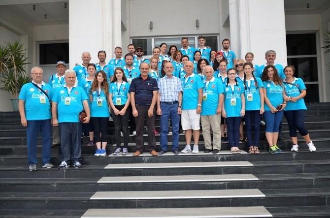 Kültür Heyetinden Cavit Öztürk'e Ziyaret