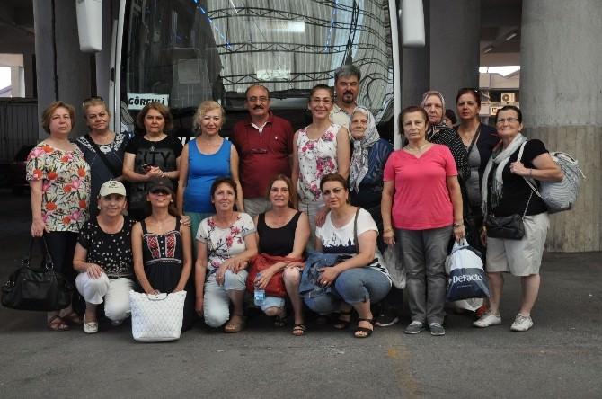 Nazilli Belediyesinden Emekli-sen Derneğine Otobüs Desteği