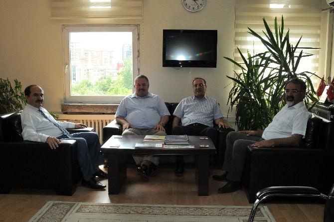 Kayseri OSB Yönetim Kurulu Başkanı Tahir Nursaçan'dan Bilim, Sanayi Ve Teknoloji İl Müdürlüğüne Ziyaret