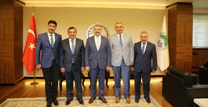Hak-iş Konfederasyonu Genel Başkan Vekili Toruntay'dan Başkan Çelik'e Ziyaret