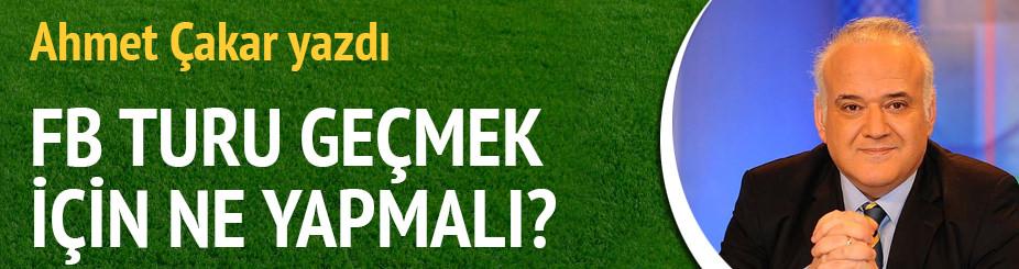 Ahmet Çakar yazdı