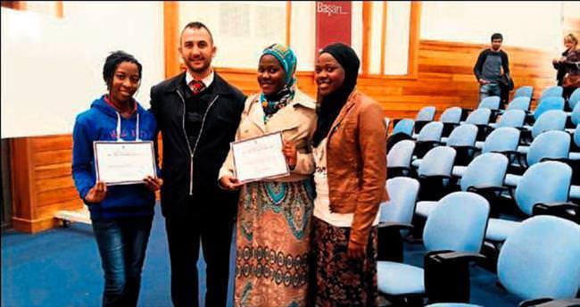 Arapça ve Türkçe sertifikaları verildi