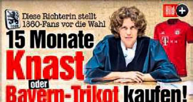 Alman hakimden karar: Bayern forması al!