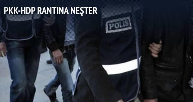 PKK-HDP rantına polis operasyonu