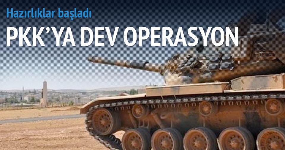PKK'ya dev kara harekatı geliyor