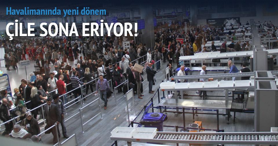 Havalimanında kemer çıkarma devri bitecek