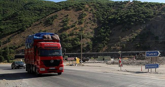 Tunceli-Erzincan karayolu ulaşıma açıldı