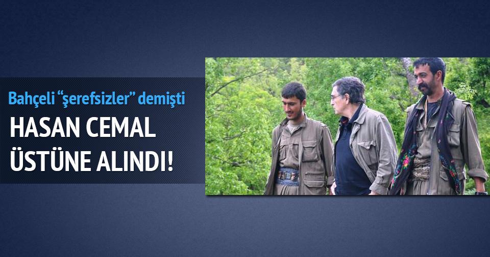 Hasan Cemal Bahçeli'nin sözlerini üstüne alındı