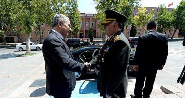 Özel'den Başbakan Yardımcısı Arınç'a veda ziyareti