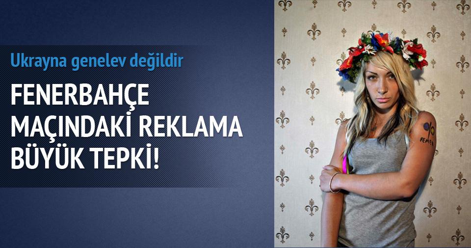 FEMEN'den prezervatif reklamı tepkisi