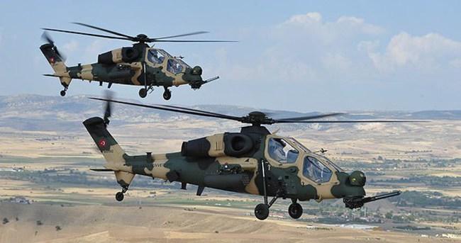 Operasyondan dönen helikopterlere ateş açıldı