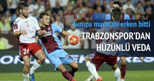Trabzonspor'dan hüzünlü veda
