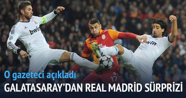 Galatasaray, Real Madrid'e rakip olacak