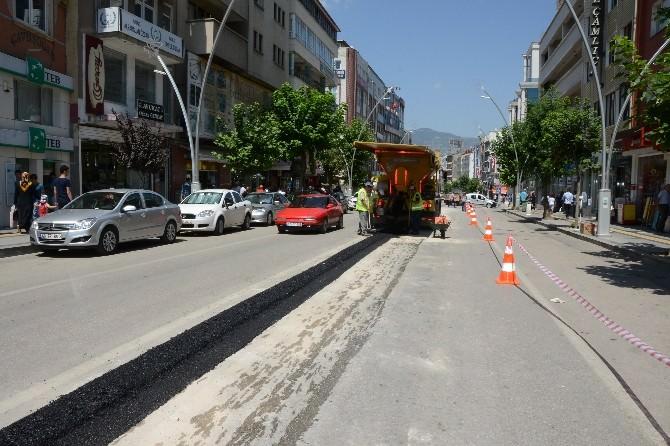 Tokat'ta Ambulans Ve İtfaiyenin Geçişini Rahatlatacak Çalışma