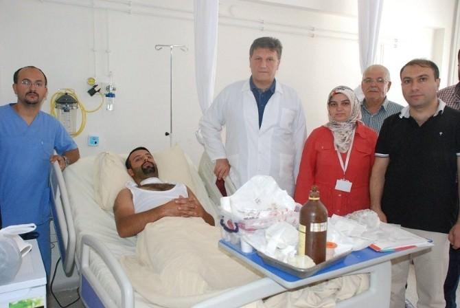 Gürün Devlet Hastanesi'nde İlk Guatr Ameliyatı Yapıldı