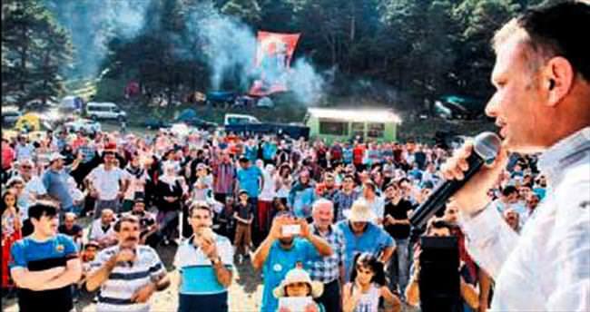 Ertürk, Pancar Dağı Şenliği'nde