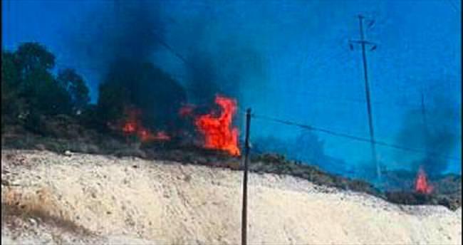 Üç noktadaki orman yangınları korkuttu