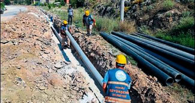 Denizli Ortaköy'ün su sorunu bitirilecek