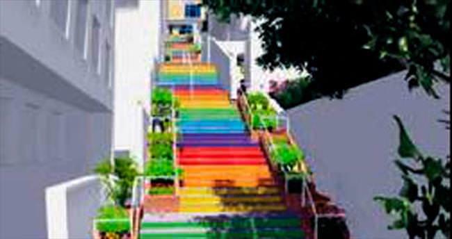 O merdiven işte böyle olacak