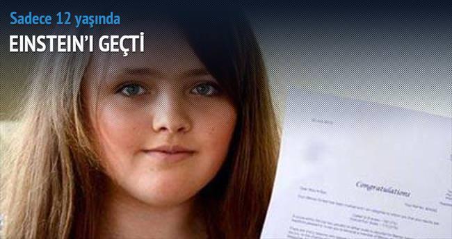 12 yaşındaki Nicole'ün IQ'su Einstein'ı geçti