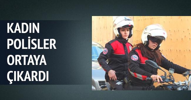 Kadın polisler deşifre etti