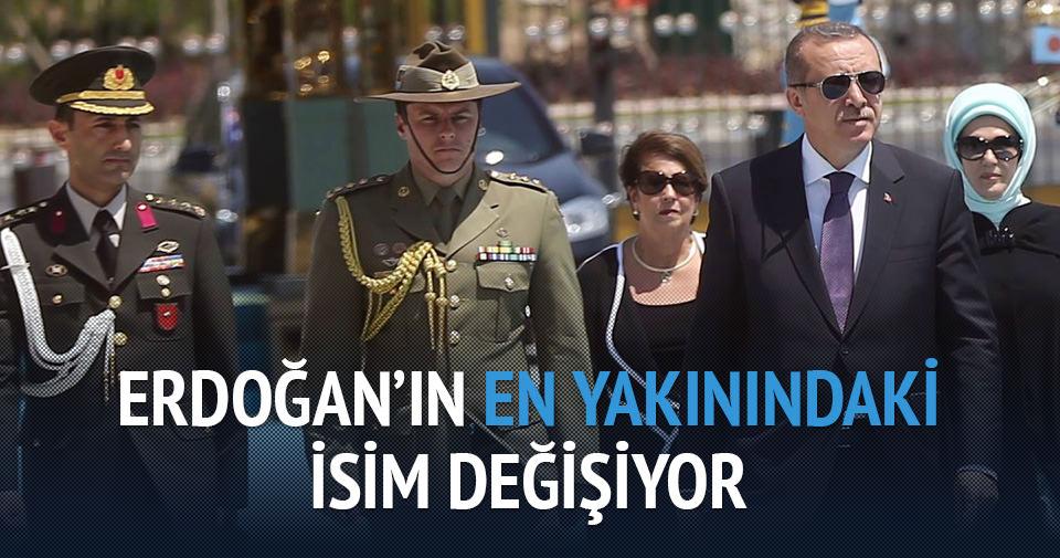 Cumhurbaşkanı Erdoğan'ın başyaveri değişiyor