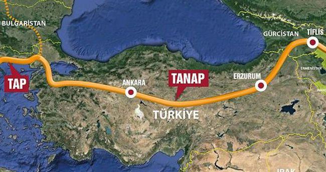 'Türkiye TANAP'ta kilit öneme sahip'