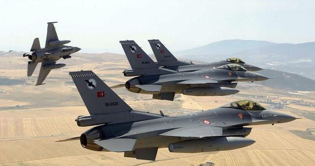 Suriye'den Türk jetlerine şok taciz!