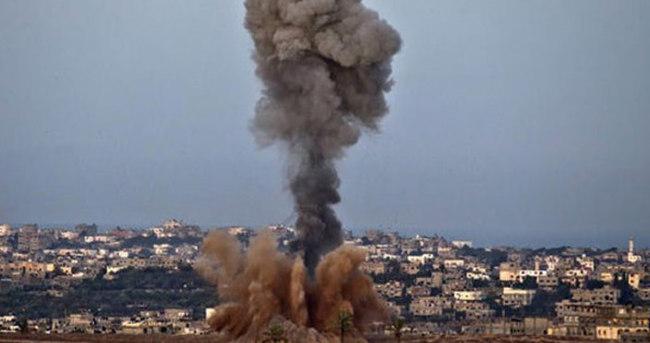 İsrail'den Gazze'ye hava saldırısı!