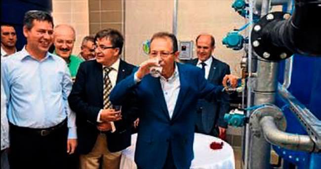 Sağlıklı içme suyu verecek tesis açıldı