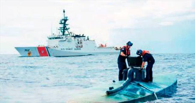 Ev yapımı denizaltıda 8 ton kokain bulundu