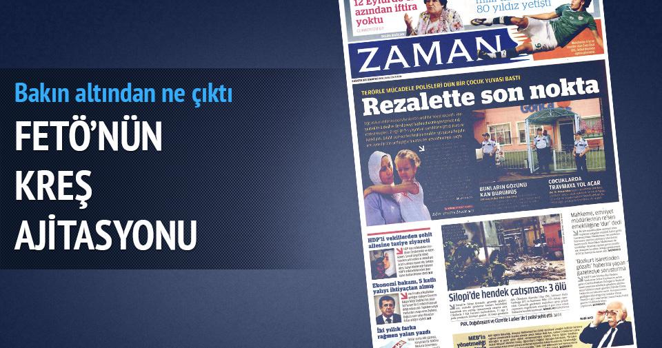"""""""Kreşe değil FETÖ'nün bütün kurumlarında arama yapıldı"""""""