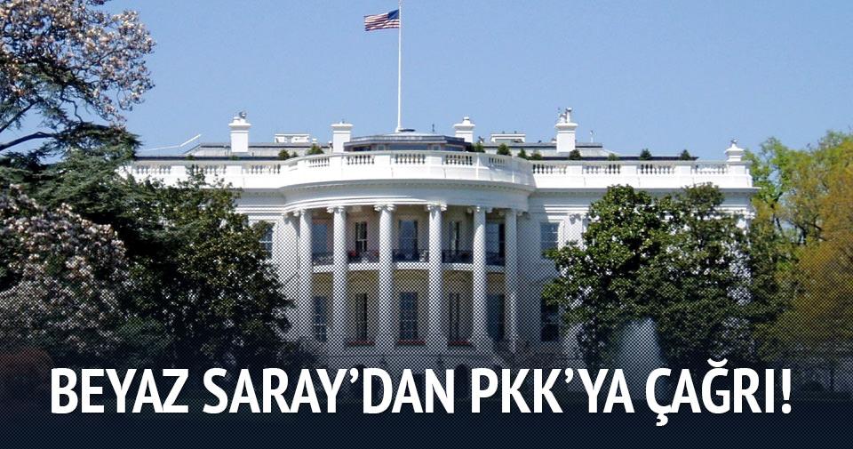 Beyaz Saray'dan PKK'ya: Son verin