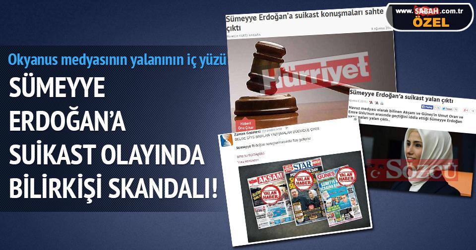 Sümeyye Erdoğan'a suikast olayında bilirkişi skandalı