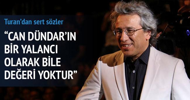 Bülent Turan'dan Çanakkale Belediyesi'ne ve Can Dündar'a sert sözler