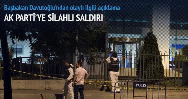 İstanbul'da AK Parti binasına silahlı saldırı: 1 yaralı