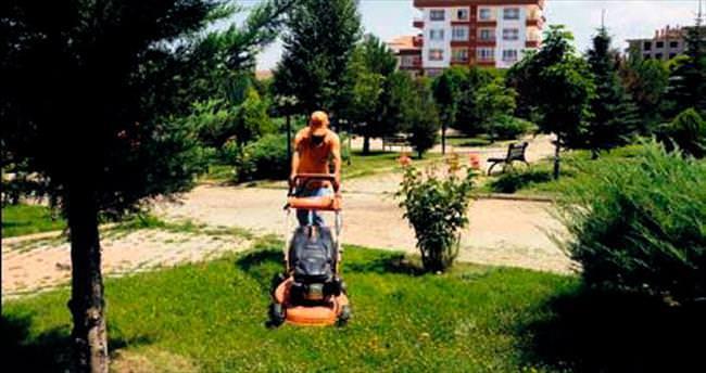 Parklara yoğun bakım